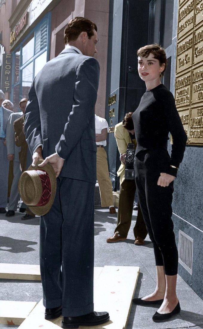 Copiando o estilo de Audrey Hepburn em Sabrina – #…