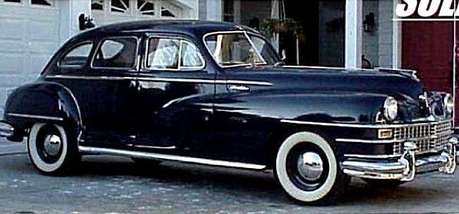La Chrysler New Yorker généretion 1, ce véhicule Chrysler New Yorker de collection fut produit en 1946.
