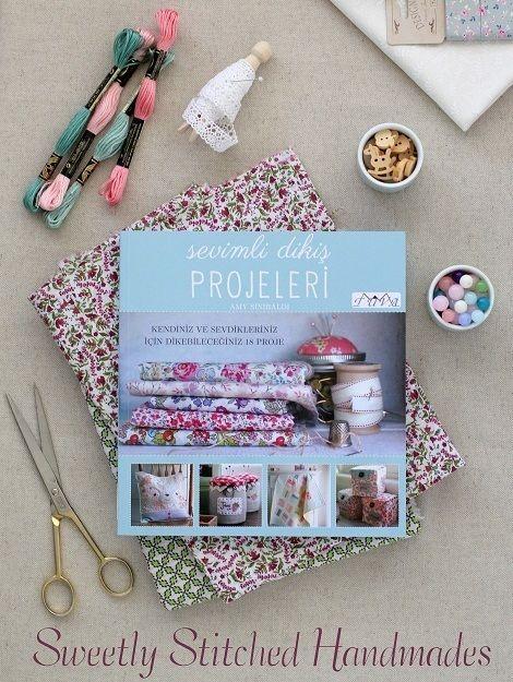 cafenoHut: Amy'nin Sevimli Dikiş Projeleri - Sweetly Stitched Handmades by Amy