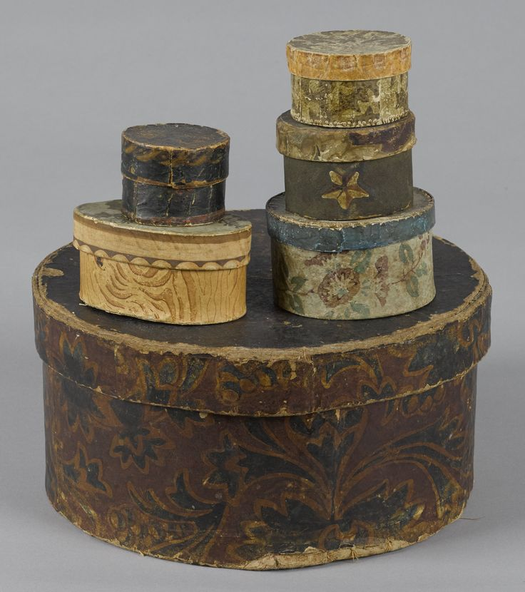 Wallpaper Boxes, 19th century                                                                                                                                                                                 More