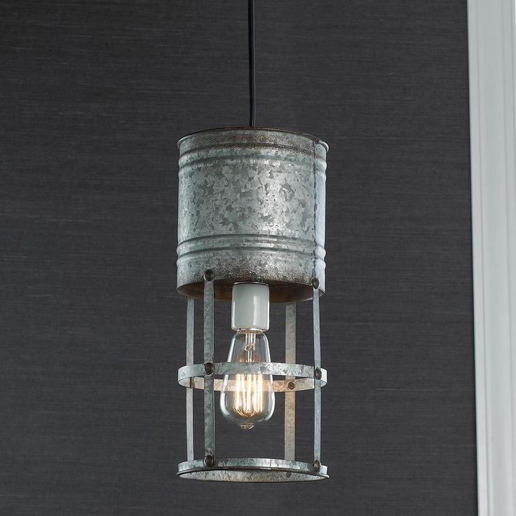 Items Similar To Galvanized Light Rustic Industrial: 132 Best Industrial Chic Images On Pinterest