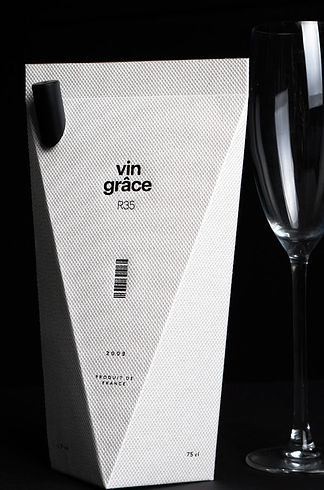 Vin Grâce Wine Packaging | The 25 Coolest Packaging Designs Of 2013