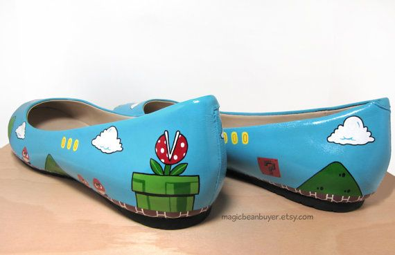 Super Mario flats! Heck yes!