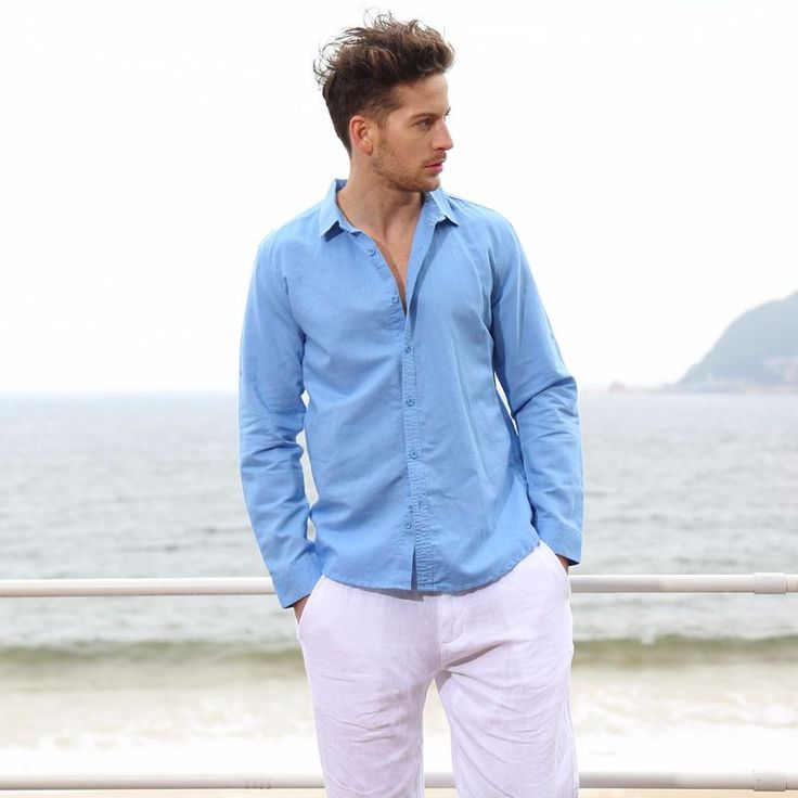 Cotton   Linen 2016 summer men linen shirt new style  http://mobwizard.com/product/cotton-linen-2016-32647390529/