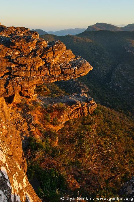 The Balconies, Reed Lookout (formerly known as the Jaws of Death), Grampians National Park, Victoria, Australia