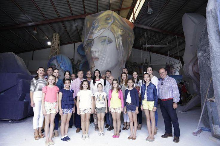 Visita a los talleres de los constructores de las Hogueras Oficiales Adulta e Infantil   Ayuntamiento de Alicante