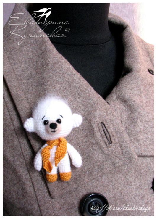 Gallery.ru / Фото #6 - Вязаные медведи (брошки, подвески) - ekuchinskaya