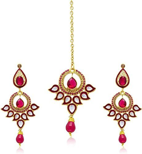 VVS Jewellers Indian Bollywood Gold Plated Pink Stone Wed... https://www.amazon.com/dp/B071W8H8DV/ref=cm_sw_r_pi_dp_x_7BNpzbVGD26EX