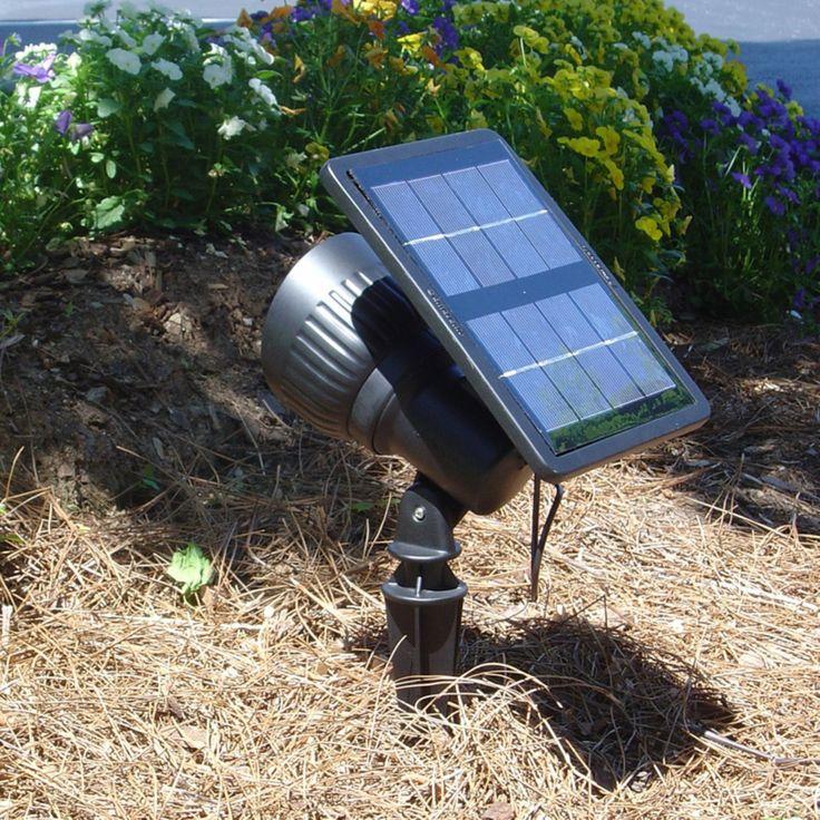 Progressive Solar Spot Light with Warm White LED - GS-103-WW