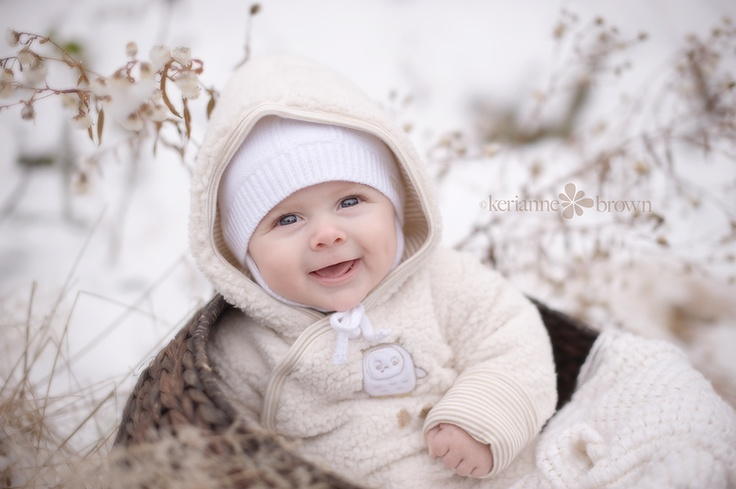 babes in snow....