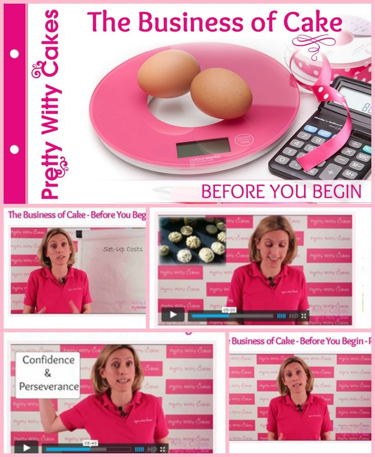 Suzi Witt, owner of Pretty Witty Cakes presents a series of 20 to 30 full tutorials on running your own cake business https://www.prettywittycakes.co.uk/projects/business-cake-you-begin