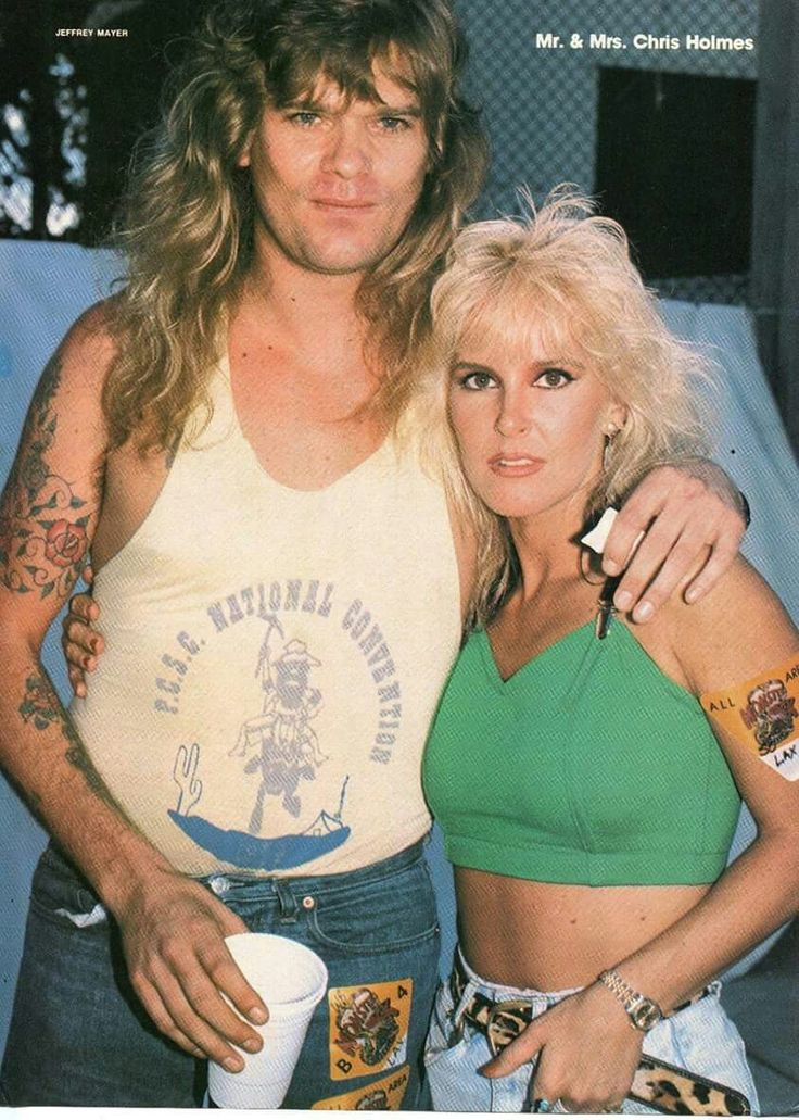 Chris Holmes And Lita Ford With Images Lita Ford