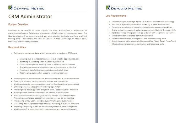 Media Specialist Job Description  A Template To Quickly Document