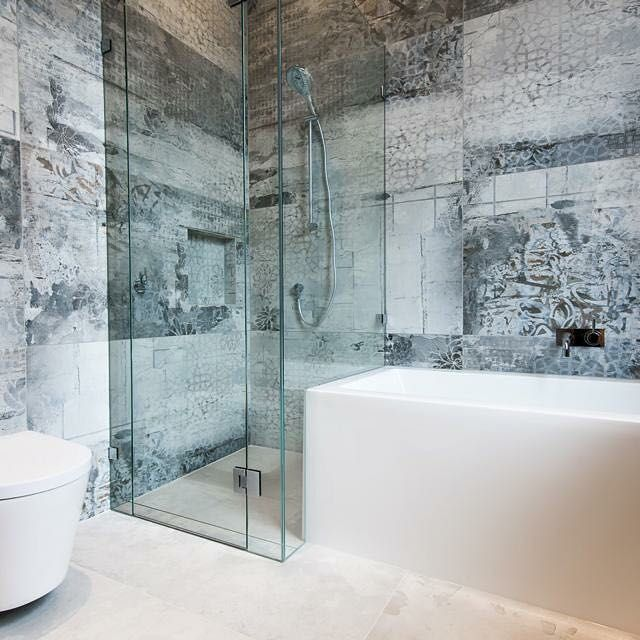 The gorgeous refin shadow light tile makes one stand out was tile in this ascot vale · carrelage
