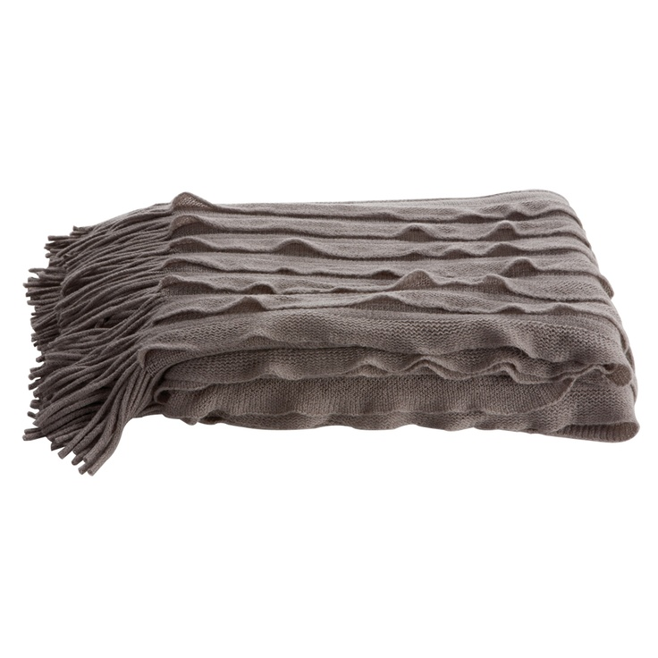 Dare Gallery - Ripple Throw Charcoal