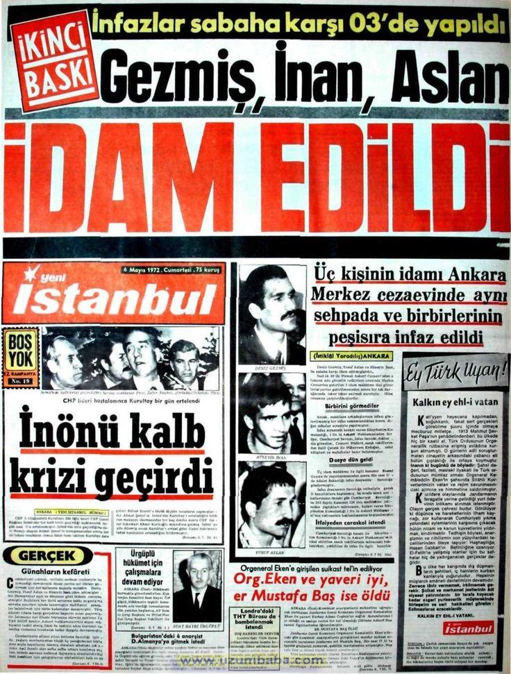 Yeni İstanbul gazetesi 6 mayıs 1972