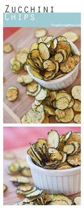 Salt and Pepper Zucchini Chips Ingredients 1 lb (about 4 cups) thin sliced Zucchini* ¼ tsp salt ¼ tsp pepper ½ tsp olive oil (this can be omitted) 1 tsp apple cider vinegar See full instructions on...