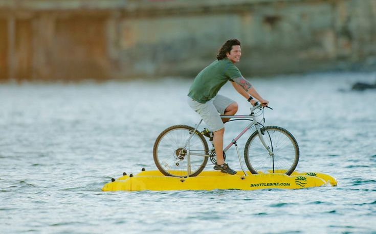 Baycycle project marks a new frontier in aquatic transit