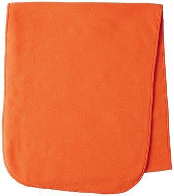 Seeland Conley fleece sjaal - kleur Fluor oranje - voor hem en haar