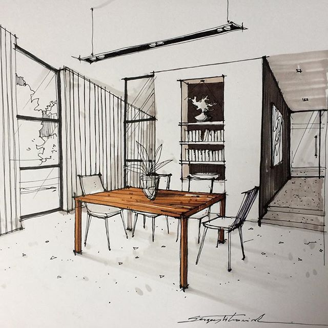 pin by inge newport on render draw in 2019 interior sketch rh pinterest com