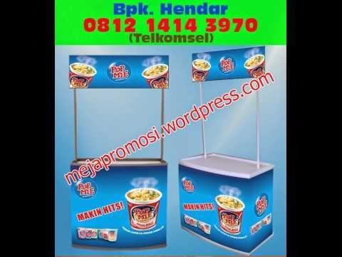0812 1414 3970 (Telkomsel), Event Desk Bandung, Meja Display Makanan, Meja Promosi Murah.