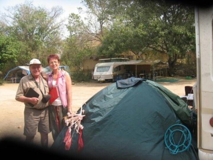 Tent opslaan