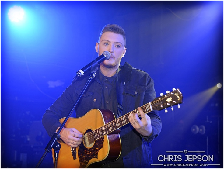X Factor winner James Arthur, live in London.   photo © ChrisJepson.com - Performance and Live Music Photographer