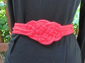 Celtic Knot Crochet: Celtic Knot Belt - FREE Pattern. Cool!