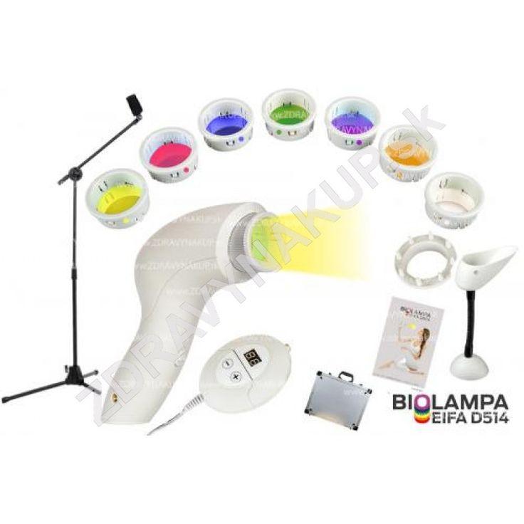 Biolampa + kolorterapia 7 filtrov + veľký stojan D514