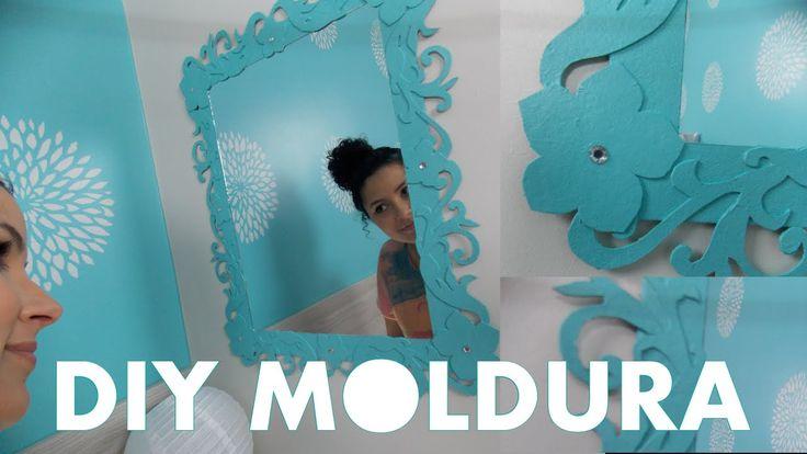 DIY | MOLDURA ESPELHO PROVENÇAL DE PAPEL | DARLENE BERTOLINI