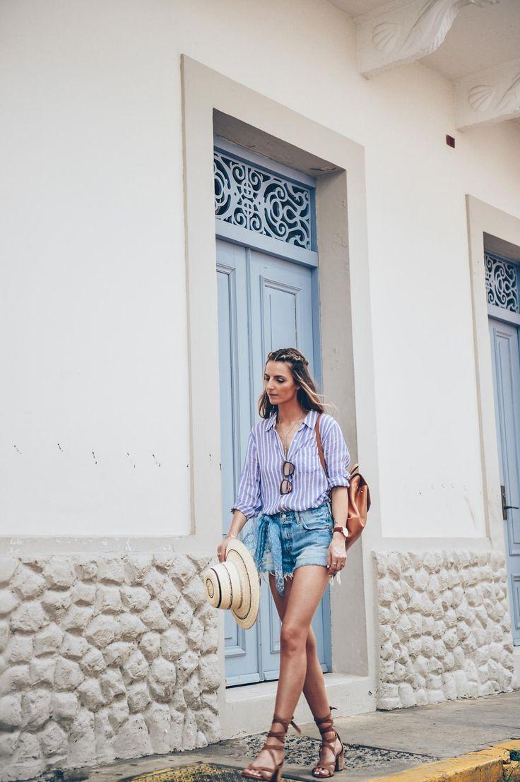 The Best Denim Cutoff Shorts | Jess Ann Kirby in Panama