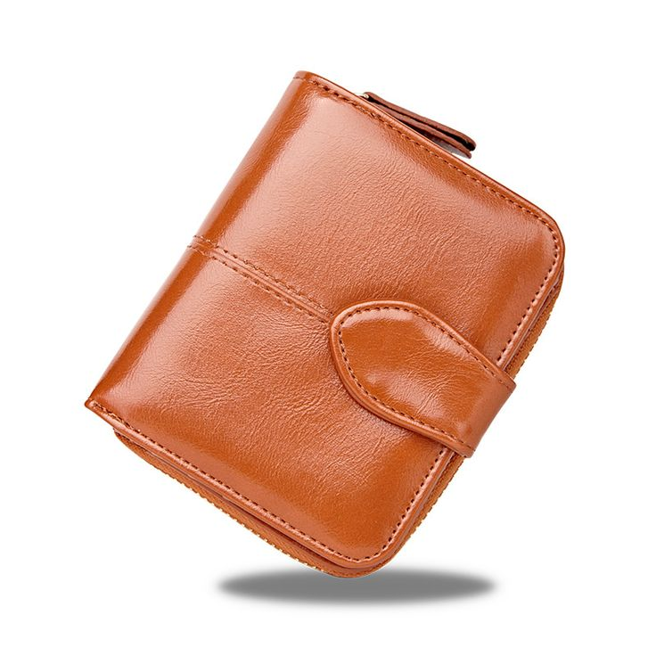 Short Women Wallet Leather Female Wallet Hasp Women Leather Purse Fashion Card Holder Lady Coin Purse Female Wallets Girls Bags #Affiliate