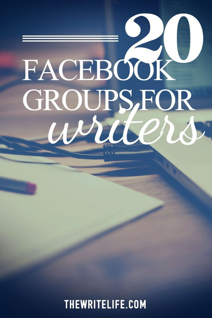 Join your fellow writers with our new, updated FB groups geared toward writers!