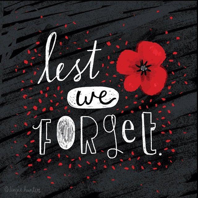 Lest we forget.