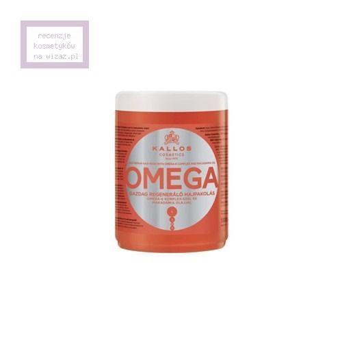 Kallos, KJMN, Omega, Maska do włosów z kwasami tłuszczowymi - cena, opinie, recenzja | KWC