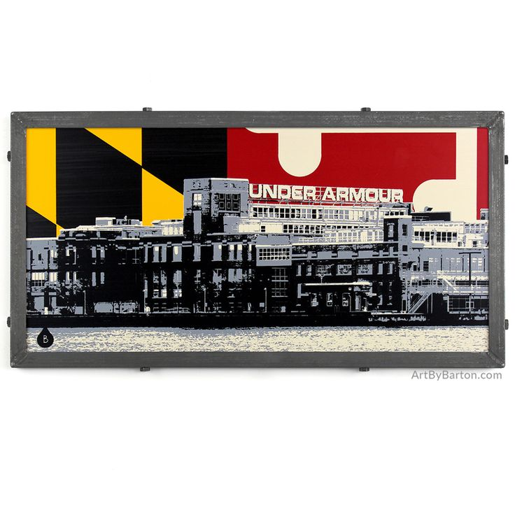 Maryland Map Coordinates%0A Under Armour Warehouse  Baltimore  MD