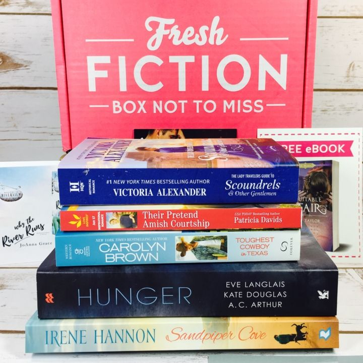 34 best national reading month images on pinterest book lovers fresh fiction box june 2017 subscription box review coupon fresh fiction is a monthly book fandeluxe Gallery