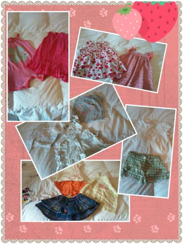 Super lote de 14 prendas para niña, talla 12 meses por solo 40€