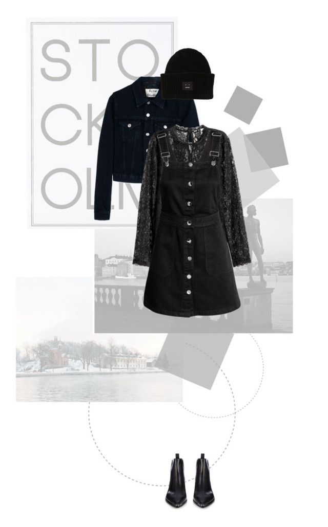 """""""Stockholm in my heart"""" by clampigirl ❤ liked on Polyvore featuring Ellos and Acne Studios"""