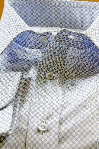 Voile blue shirt. Shirt For Men - $113