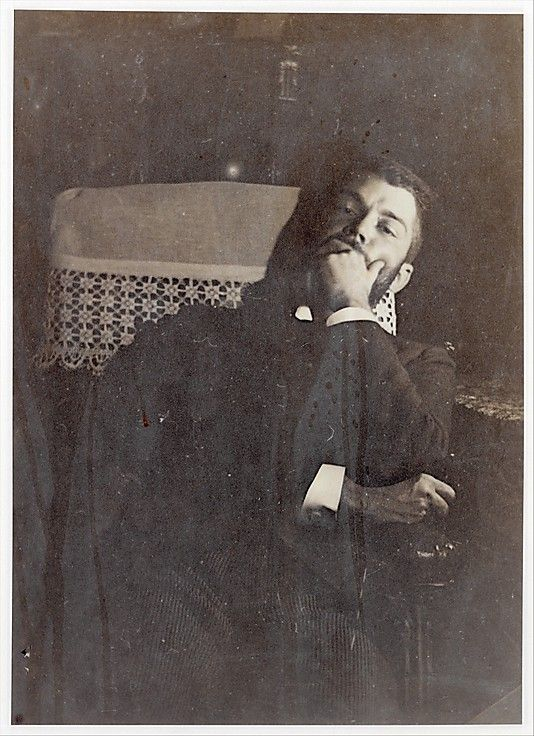 "Edgar Degas: Photograph of ""Daniel Halévy,"" son of Ludovic and Louise Halévy  1895  (metmuseum.org)"