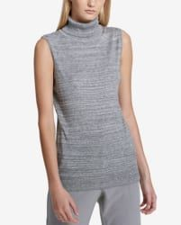 Calvin Klein Women's Turtleneck Sweater for $19  ||  Macy's offers the Calvin Klein Women's Turtleneck Sweater in Heather Granite for $26.99. Coupon code RC2LK4 cuts it to $18.89. Pad your order with a beauty item (they start at $3) to bag free shipping; otherwise, shipping adds $10.95. That's $41 off list and the lowest price we could find. It's available in sizes XS to XL. Deal ends…