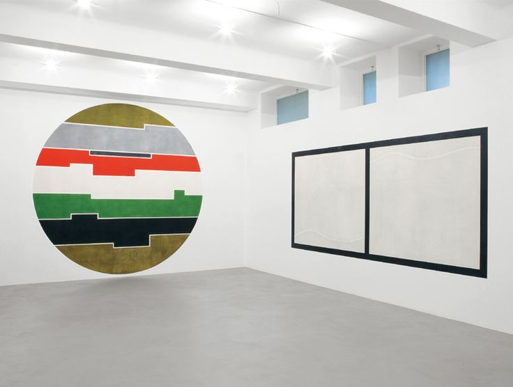 David Tremlett: Drawn, Rubbed, Smeared. 8 works applied directly to the gallery walls