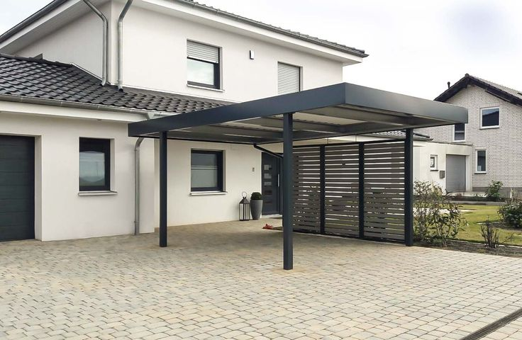 carport von siebau mit wandfeld sichtschutz carport. Black Bedroom Furniture Sets. Home Design Ideas