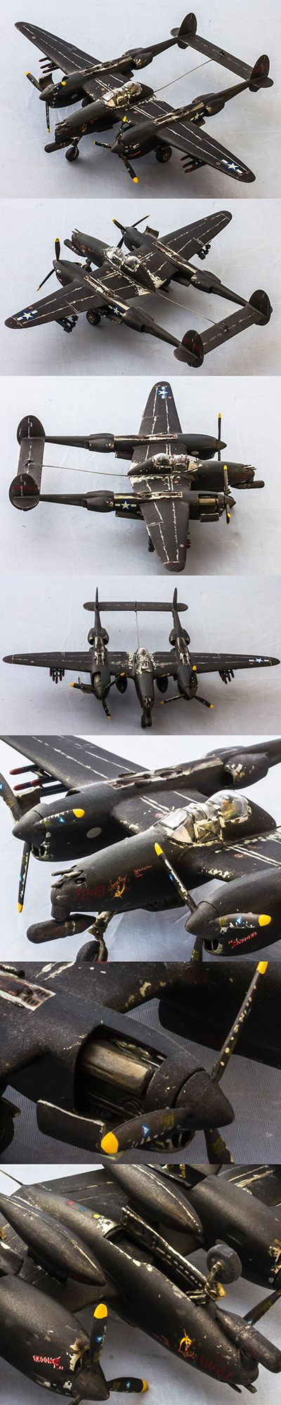 "Lockheed P-38 ""Lightning"" Night Fighter by Korhan AKBAYTOGAN"