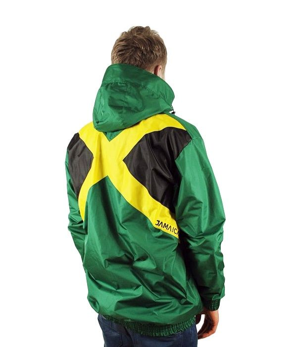 VIDA Jamaica Flag Jacket :: VIDA clothing Rasta Reggae Shop