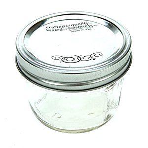 Amazon.com: Jarden Home Brands 12Pk 1/2Pt wide Mouth Jar Canning Jars: Half Pint Mason Jars: Kitchen & Dining