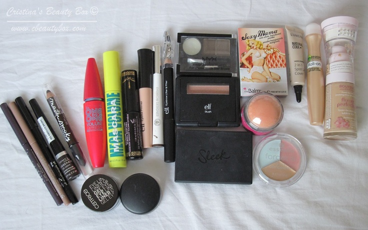 Cristina's Beauty Box | Beauty Blog : In My Make Up Box: February