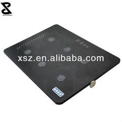 six fans notebook cooling pad in modern design with high quality for game lover