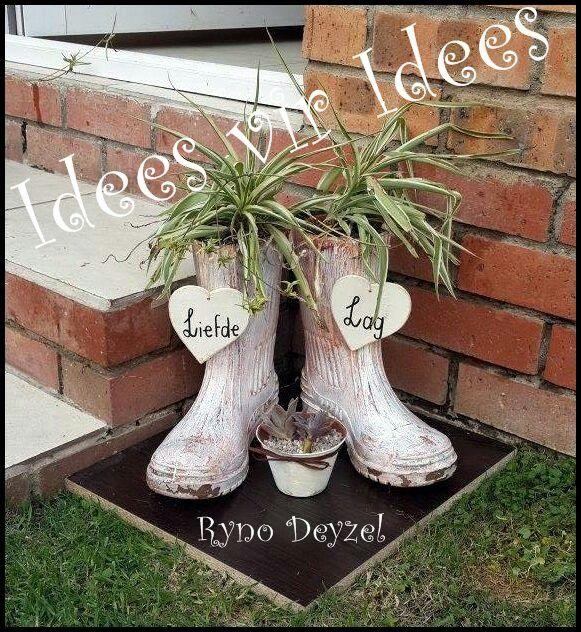 Te oulike idee vir klein hoekie tuine pinterest tes - Klein keukenopslag idee ...
